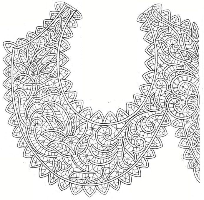 румынское кружево схемы - 8