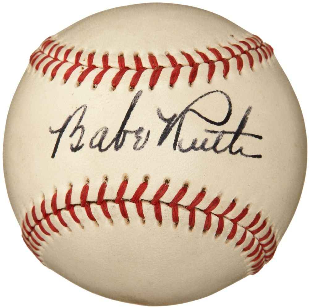 Pin By Destine Coleman On Baseball Babe Ruth Babe Ruth Signed Baseball Babe Ruth Baseball