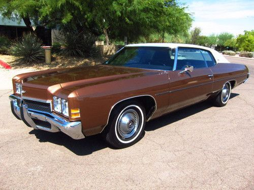 Sell Used 1972 Chevrolet Impala Sport Coupe One Owner Only 27k Org Miles Wow In Scottsdale Arizona United Sta Chevrolet Impala Classic Cars Chevrolet