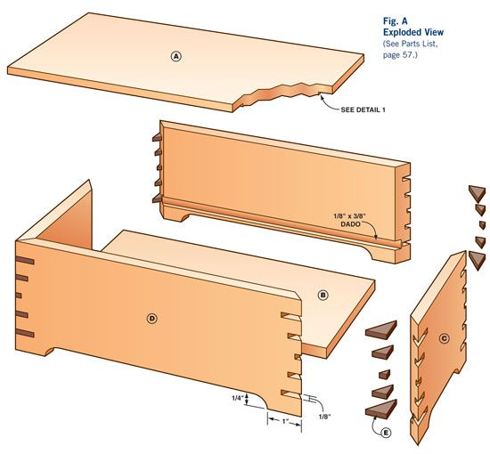 How to Make a Keepsake Box DIY Jewelry Box Plans Jewelry box