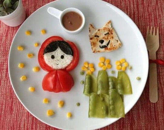 Para que los niños coman vegetales