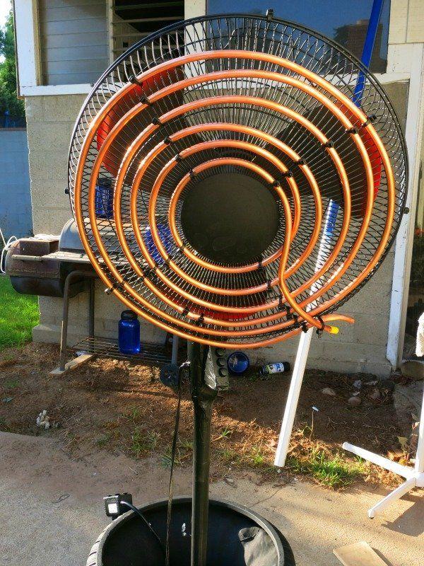 DIY Air Conditioning Fan Air conditioning fan, Diy air