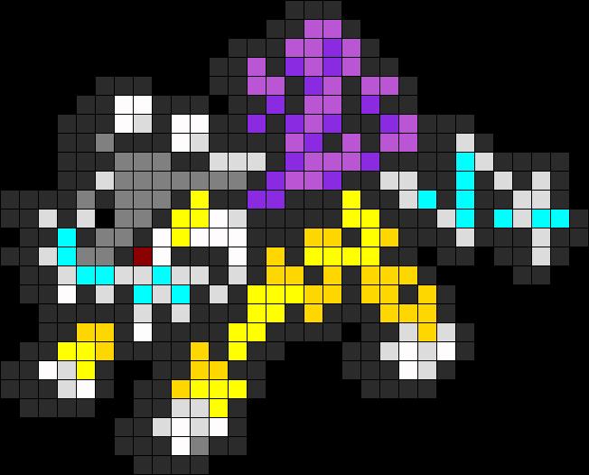 Raikou Pokémon Soleil Et Lune Pokemon Perle Pixel Art