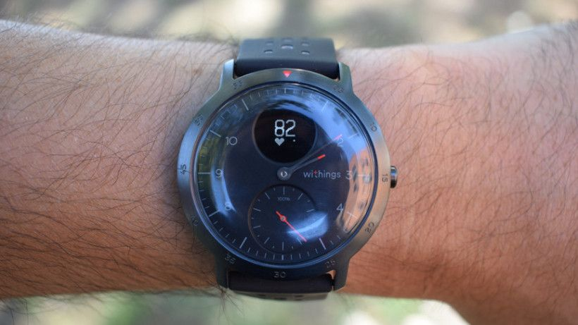 Deal The Withings Steel Hr Sport Hybrid Smartwatch Drops To Its Lowest Price Yet Smart Watch Wearable Technology Samsung Gear Watch