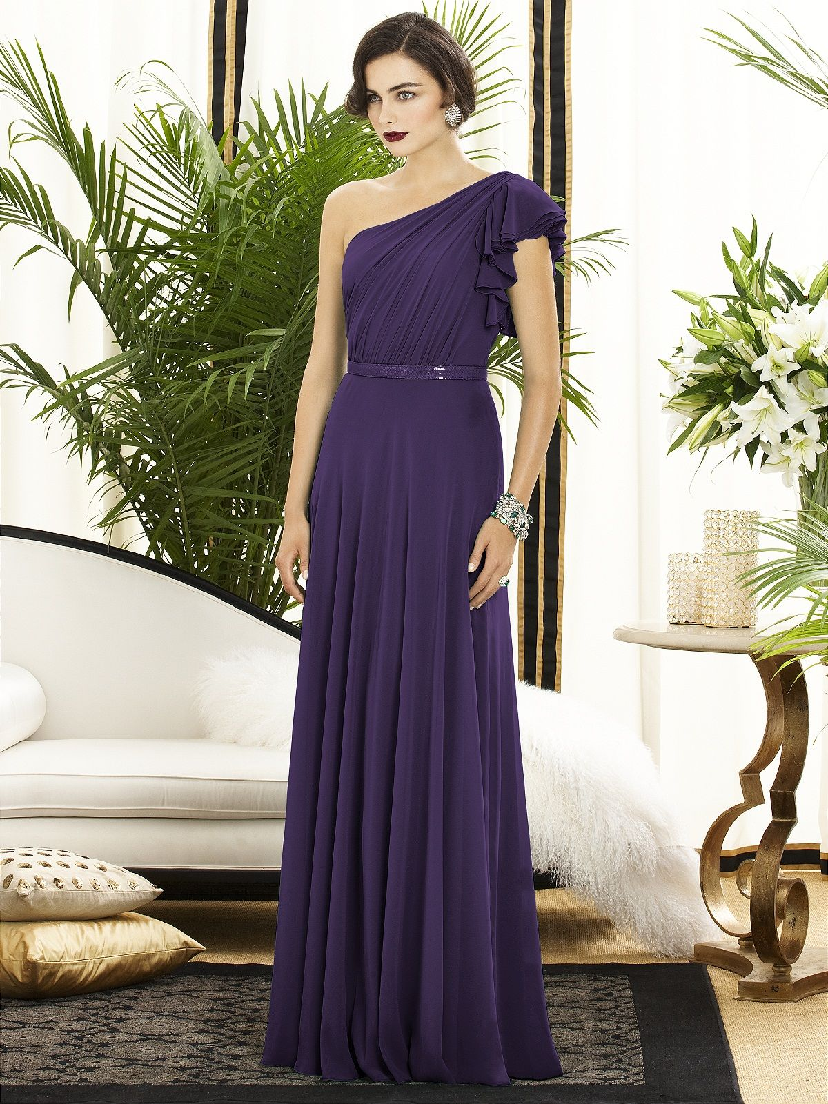 Dessy Collection Style 2885 | Chiffon dress, Bodice and Wedding