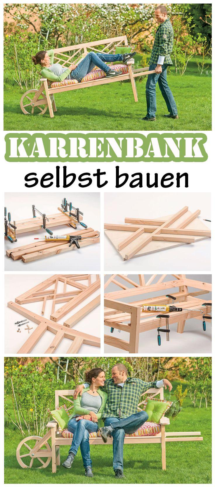 Bauplan: Schubkarrenbank | home | Pinterest | DIY furniture, Woods ...