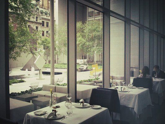 The Modern Moma Nyc Chef Gabriel Kreuther New American French Michelin Starred The Modern Nyc Nyc Restaurants Nyc