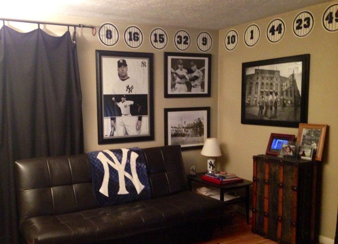 Yankees Office Decor
