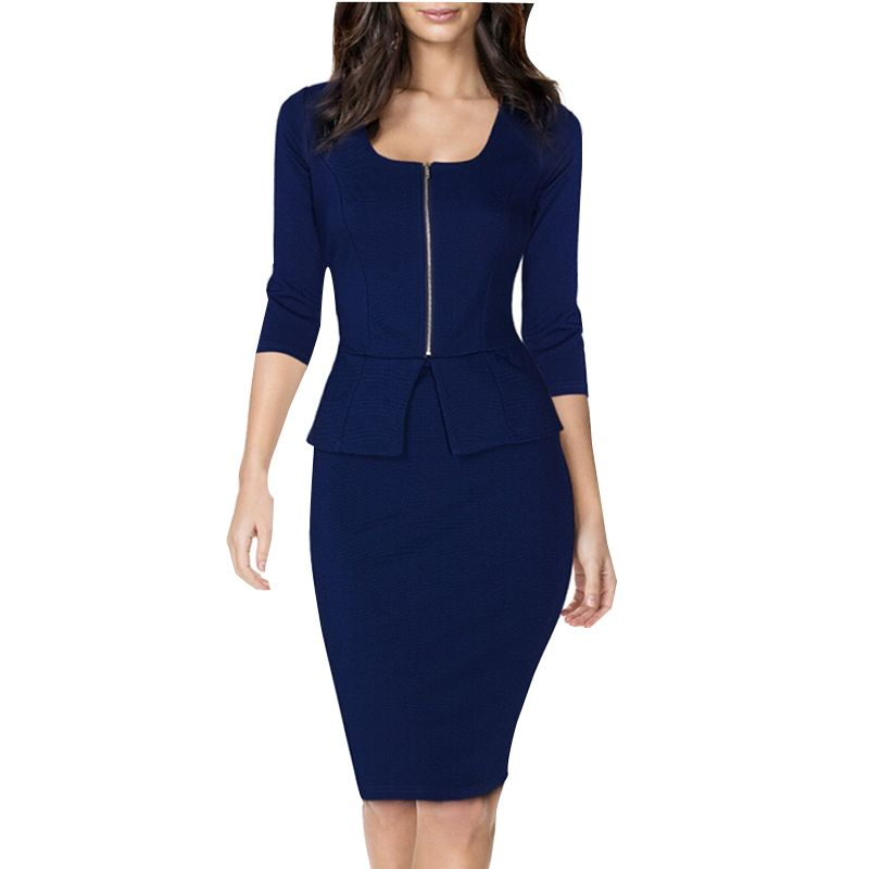 Elegant Womens Business Suits Blazer with Skirts Formal ...