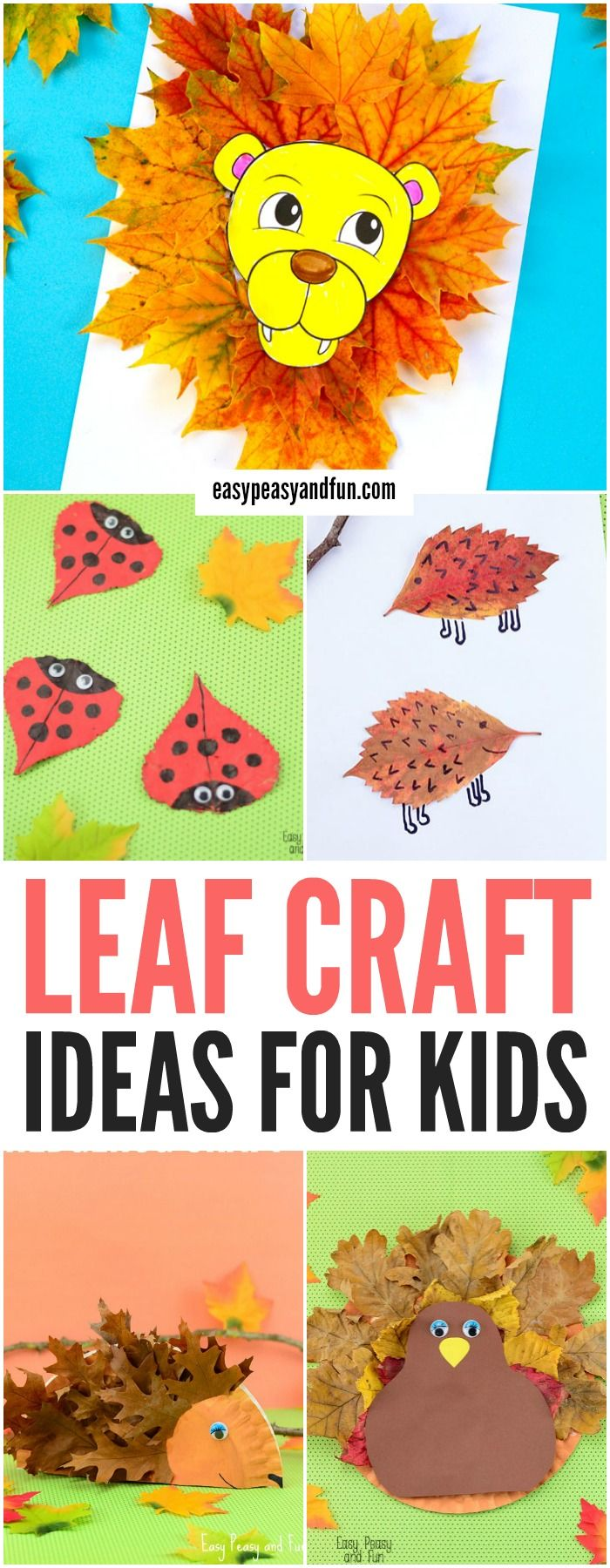 Wonderful Fall Leaf Crafts Ideas | Easy Peasy and Fun | Leaf