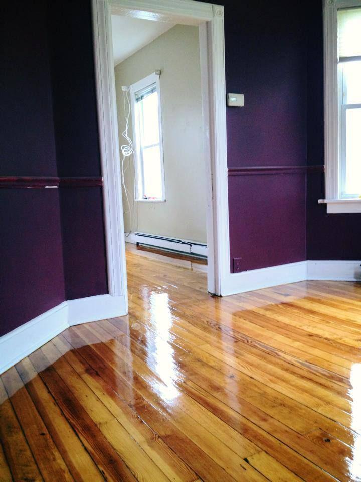 3 Coats Of High Gloss Polyurethane On Pine Floortpjimmyfloors