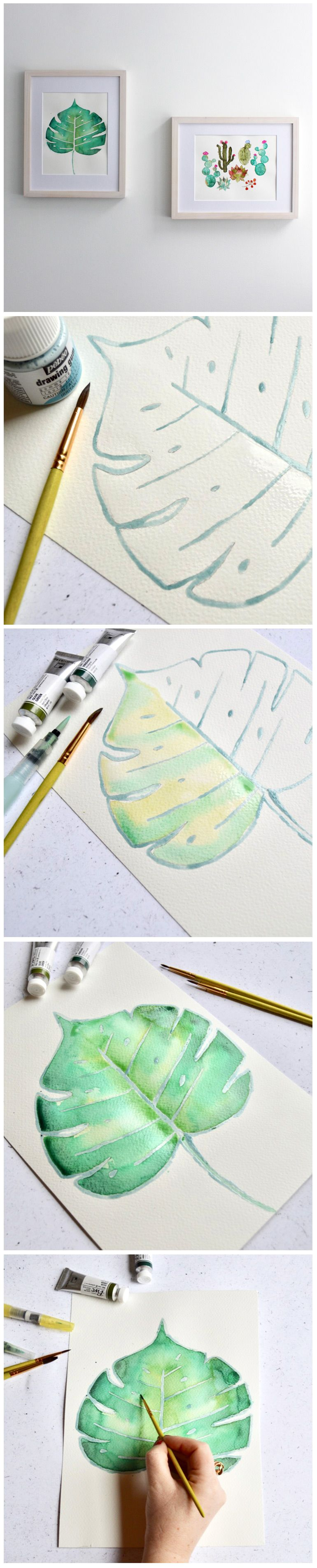 Watercolour Technique Wet On Wet Technique D Aquarelle