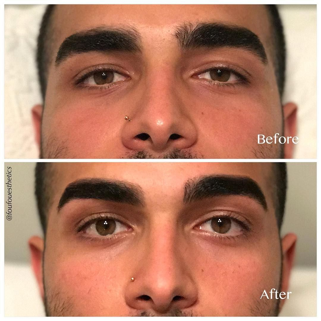 When Grooming Men S Eyebrows It Is Very Important Not To Make Them