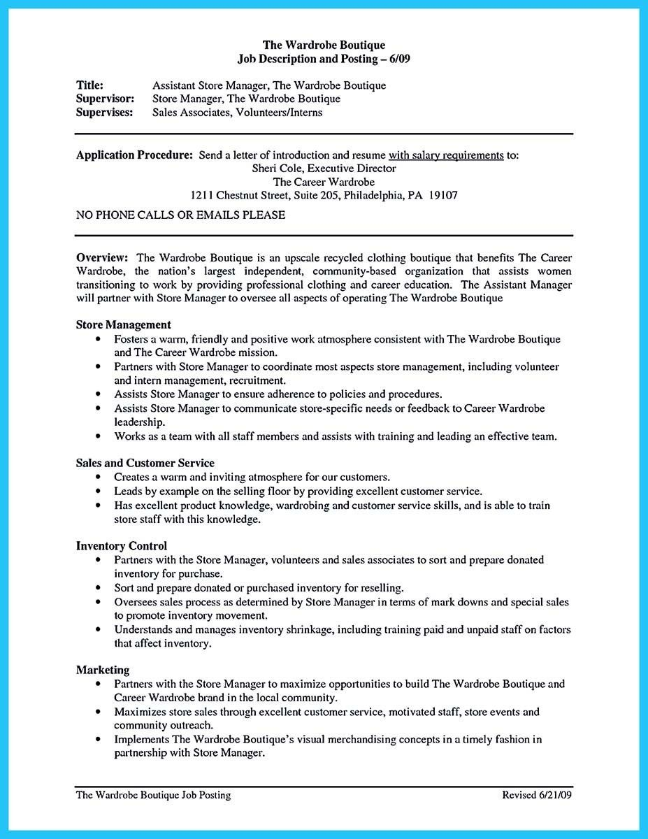 Wardrobe Assistant Cover Letter Cool Writing A Great Assistant Property Manager Resume Resume
