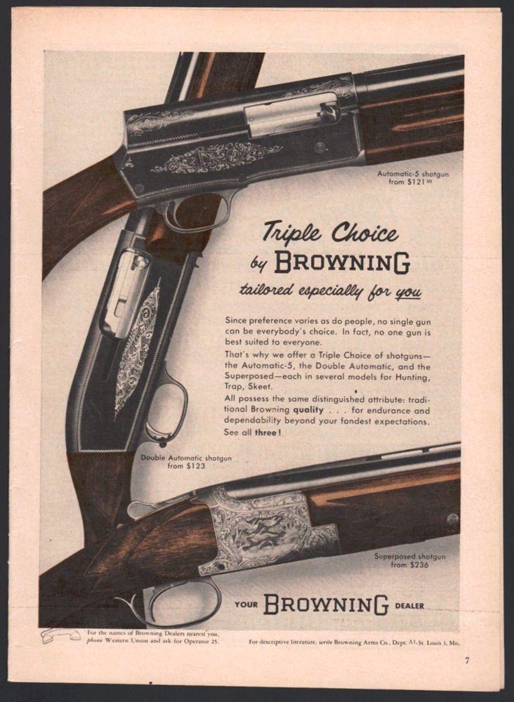 13 Ideas De Browning Escopetas Cacería De Ciervos Seguridad De Casa