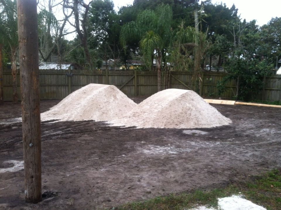 How To Build A Sand Volleyball Court In Your Backyard ...