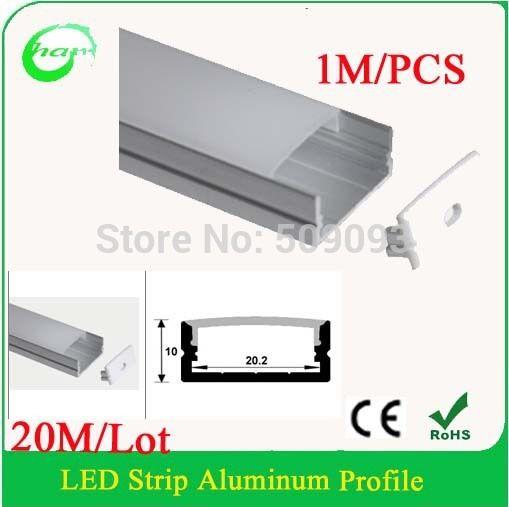 Best 1M 2M 3M Surface Mount Led Str*P Channel For Double Row 400 x 300
