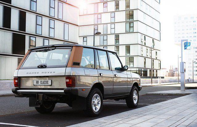 Land Rover Range Rover 'Classic' custom built Stornoway Grey