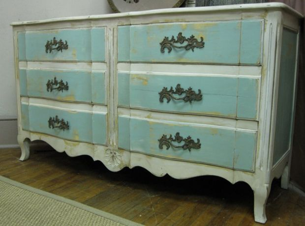 How To Paint Dresser