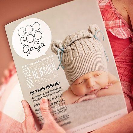 $29 for GooGooGaGa Newborn Magazine Template from Galler.ee {Save 69 ...