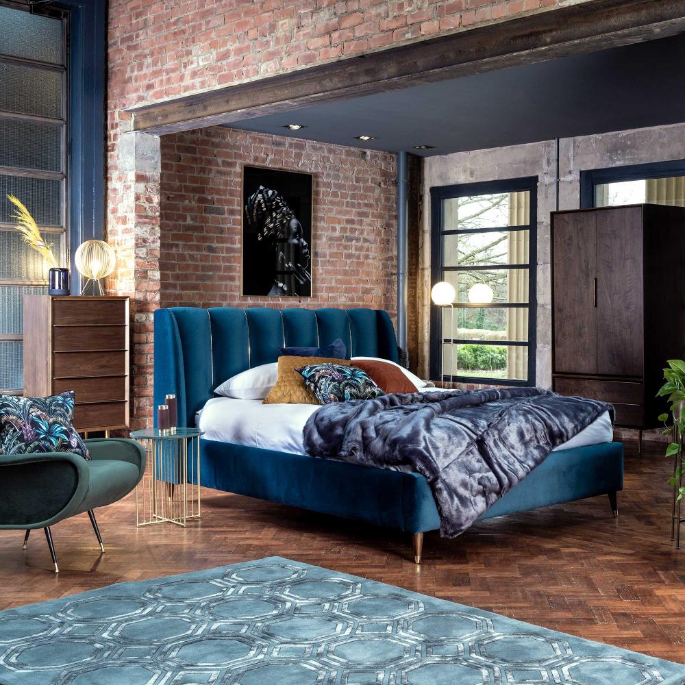 Astrid Bed Frame Bedframes Bedroom In 2020 King Bed Frame Bed Frame King Beds