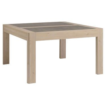 cool Table carrée 135 cm CHRIS coloris mélèze - Conforama Check more - Conforama Tables De Cuisine