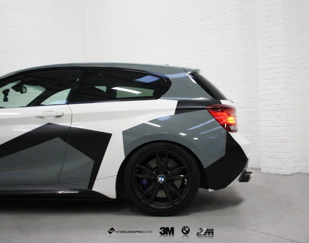 Bmw M135i Camo Personal Vehicle Wrap Project Car Wrap Vinyl