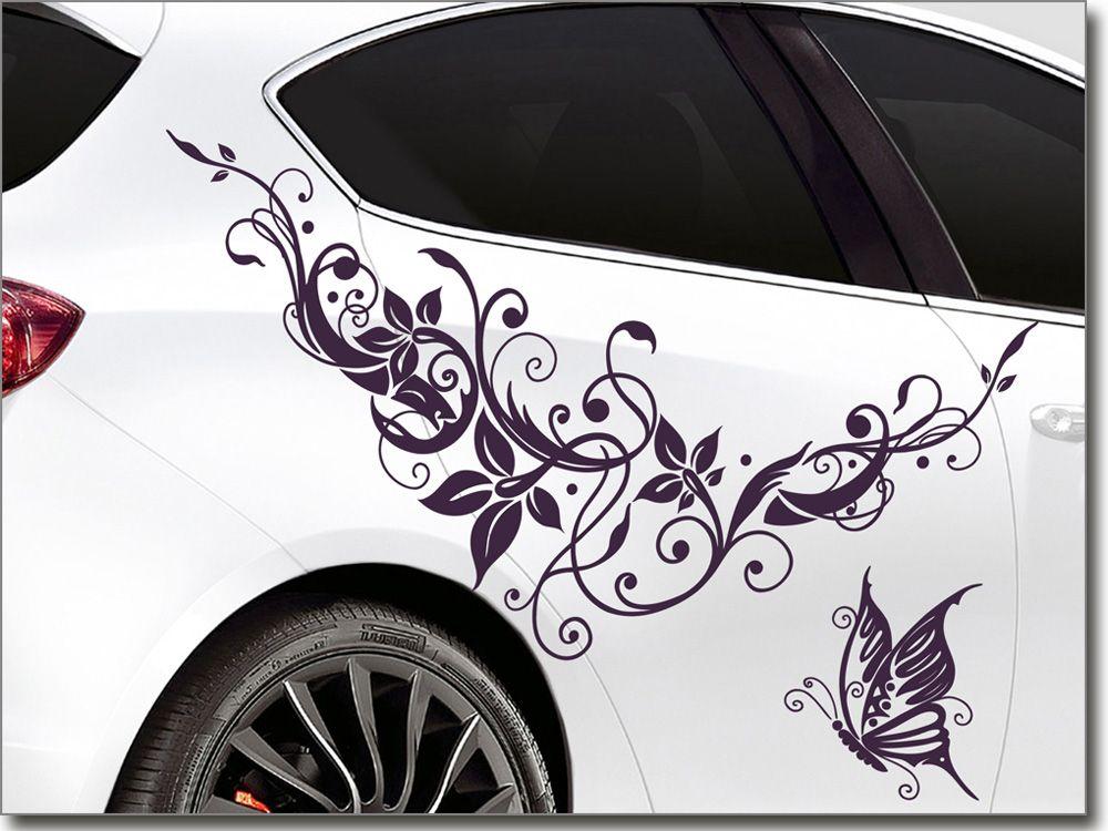 Autoaufkleber Traum Ornament Schmetterling Auto Aufkleber Aufkleber Autos