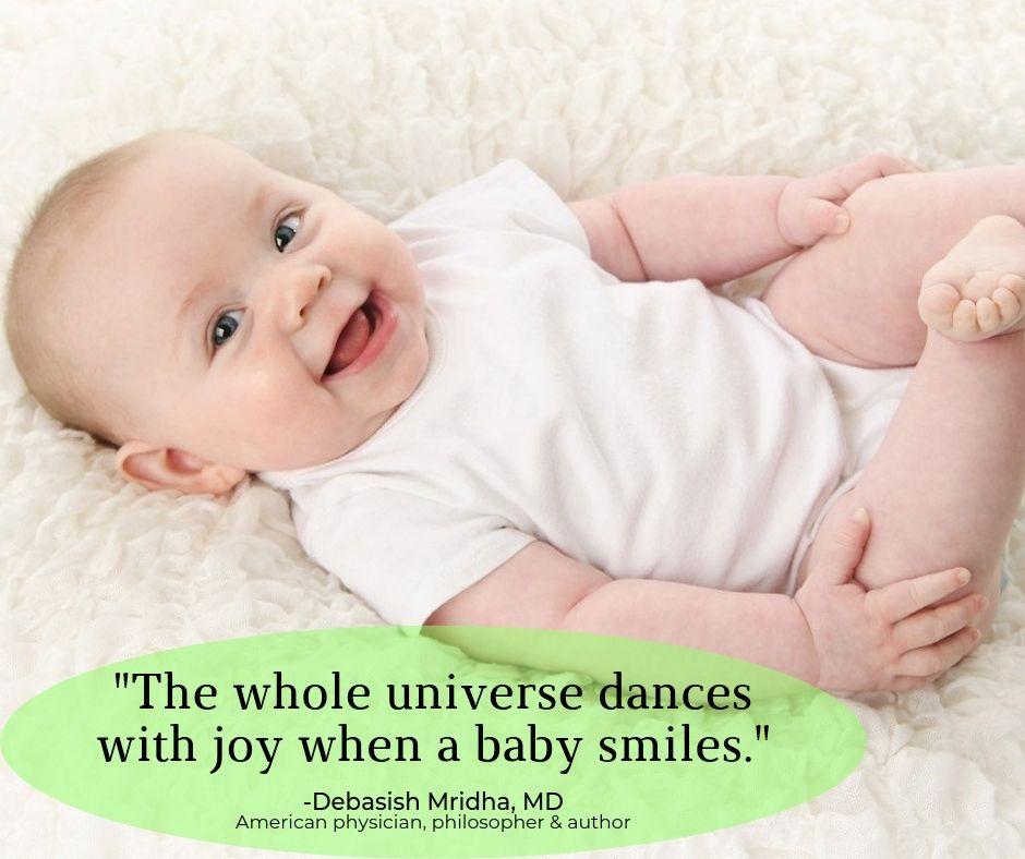 Debasishmridha Mridhaquotes Bestbabyquotesever Babyquotes Baby Wholeuniverse Universe Danceswithjoy Dance Joy Babysmile Baby Smiles Baby Quotes Baby