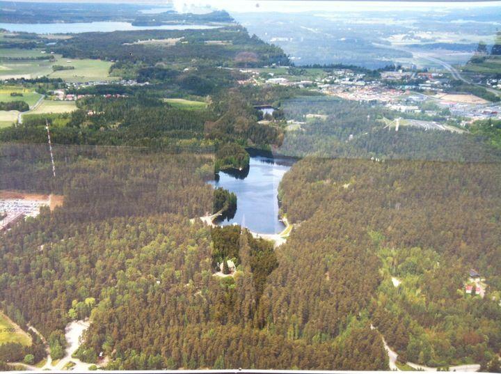 Ahveniston ulkoilualue paikassa Hämeenlinna, Etelä-Suomen Lääni