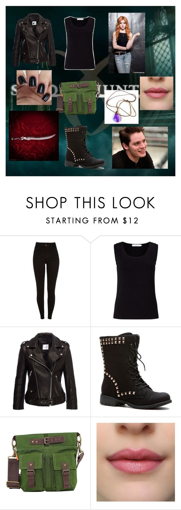 """""""Clary Fairchild"""" by alexhoran0720 on Polyvore featuring John Lewis, Anine Bing and CB Station"""