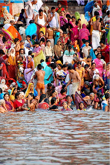 during monsoon season in India.