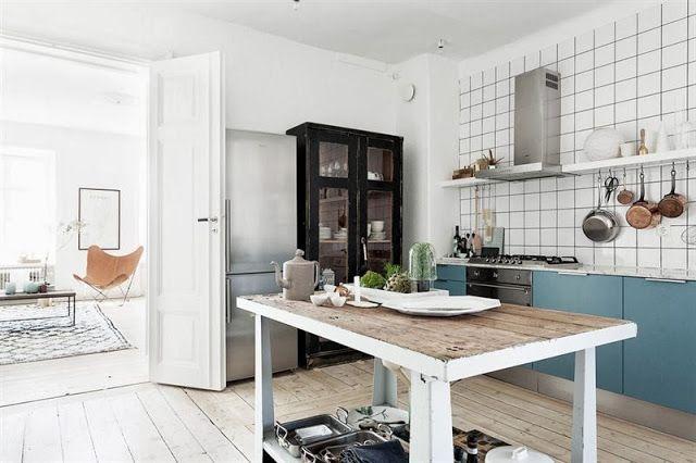 Noir Blanc Un Style Home Kitchens Kitchen Interior Kitchen Inspirations