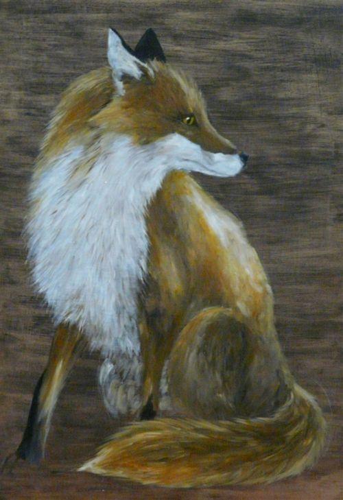 Foxes Artist   Becky Munting - Artist