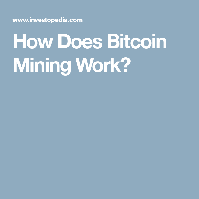 What Do Miners Get?