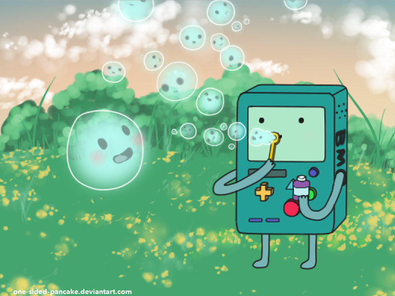 Bmo And Bubble By One Sided Pancake Adventure Time Anime Adventure Time Adventure Time Characters