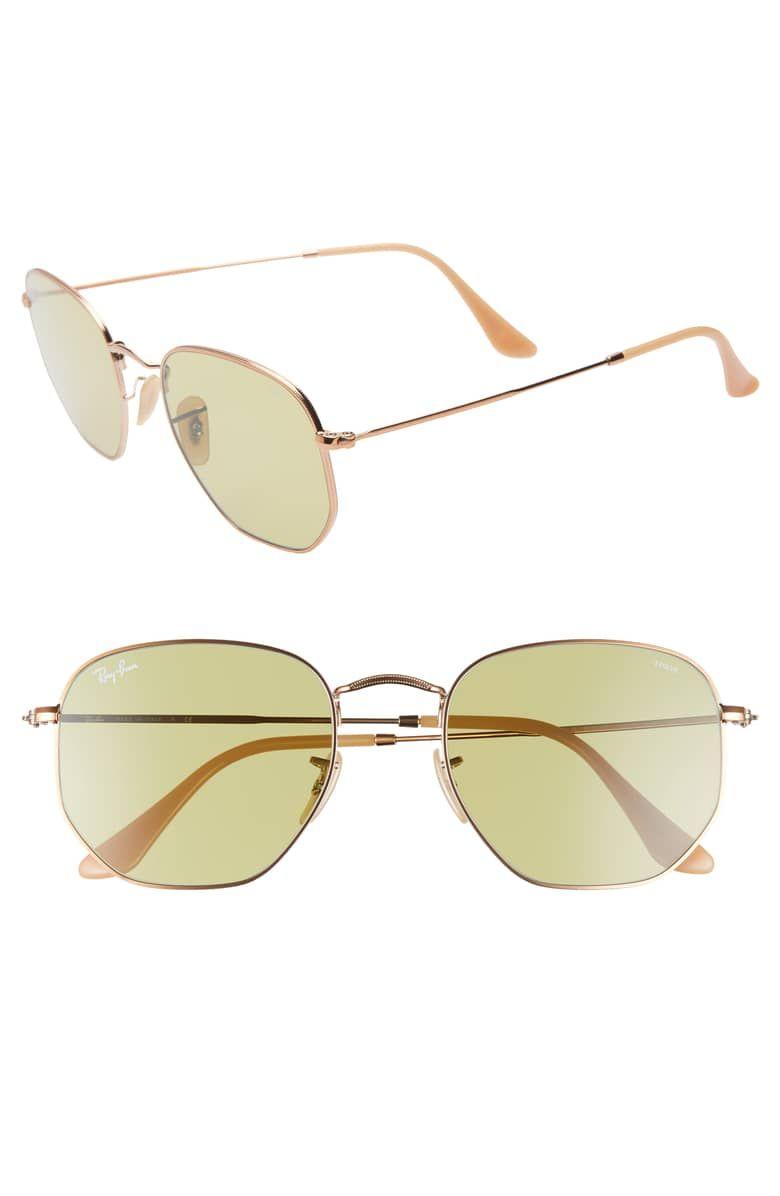 2a90e17aeba37 54mm Evolve Photochromic Hexagon Sunglasses