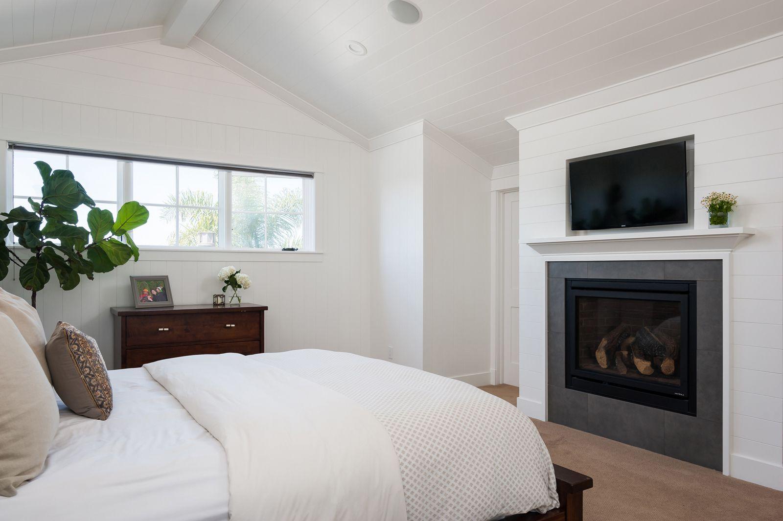 Highland Modern Farmhouse Master bedroom design