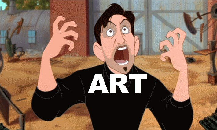 haha! YES! Making art all the time gets frustrating...