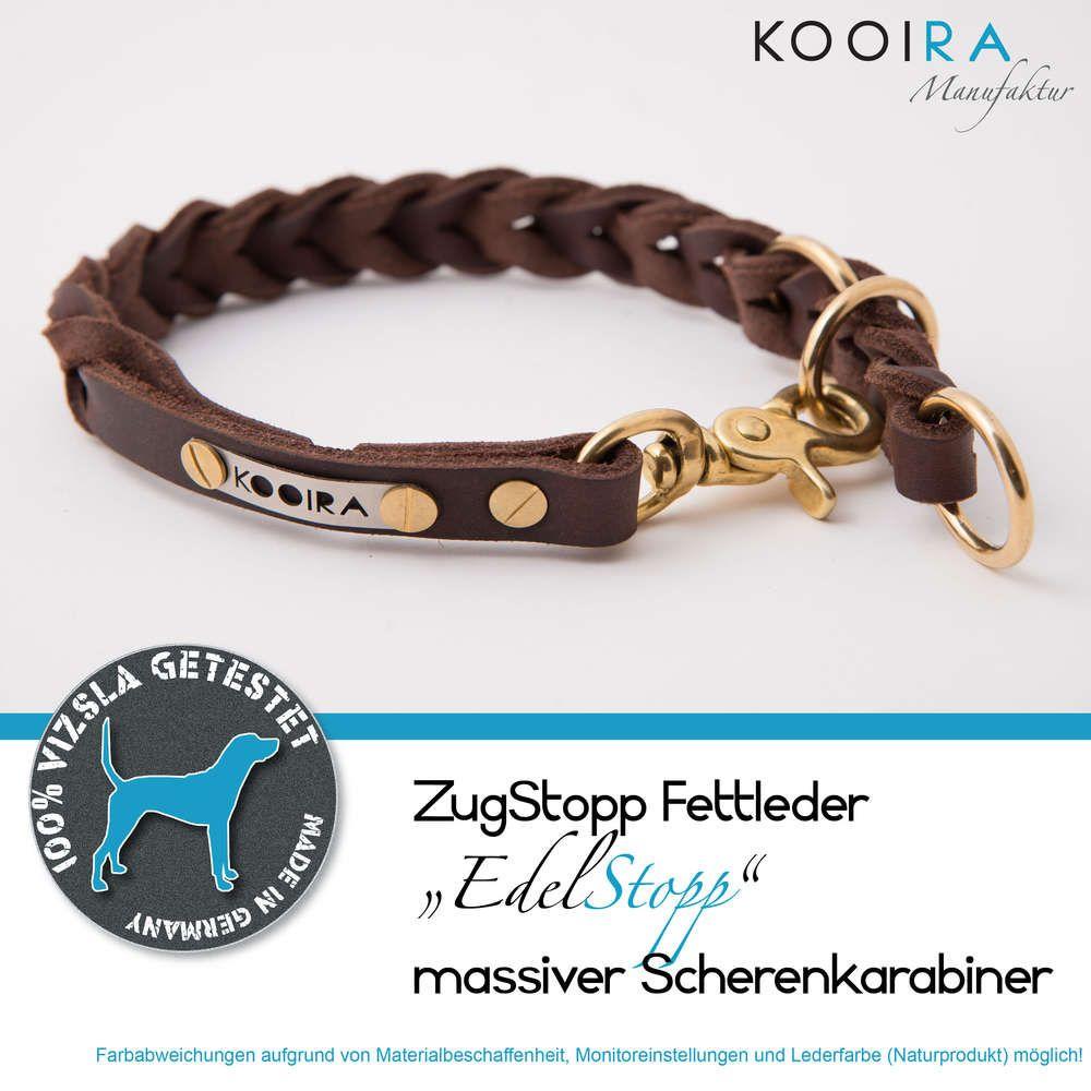 Kooira Manufaktur Luneburg Handgefertigte Hundeaccessoires Hundehalsband Leder Hunde Accessoires Hundehalsband