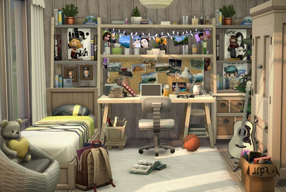 The Result When I Try To Use Not So Much Clutter Sims House