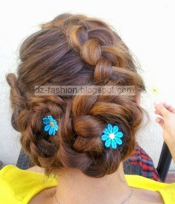عمل تسريحات شعر للبنات بالصور Dz Fashion Hair Beauty Hair Styles Girl Hairstyles