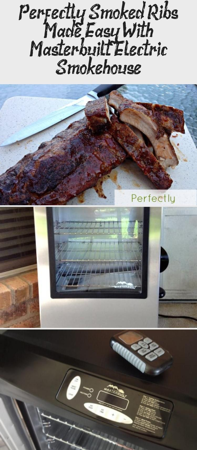 Looking For Masterbuilt Smoker Recipes These Smoked Ribs Are Amazing And So Eas In 2020 Smoked Ribs Smoker Recipes Masterbuilt Smoker