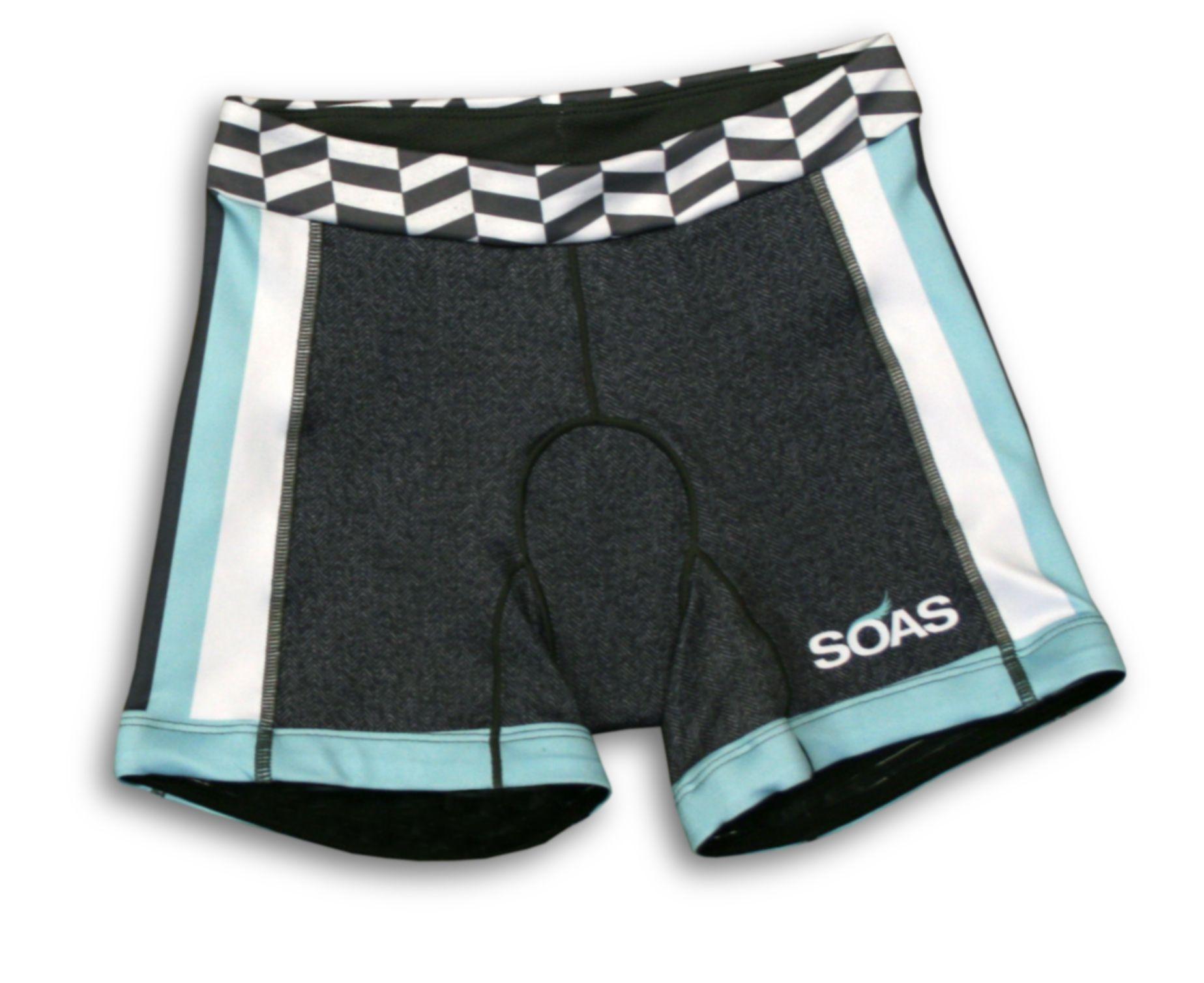 SOAS Racing -- Herringbone Shorts