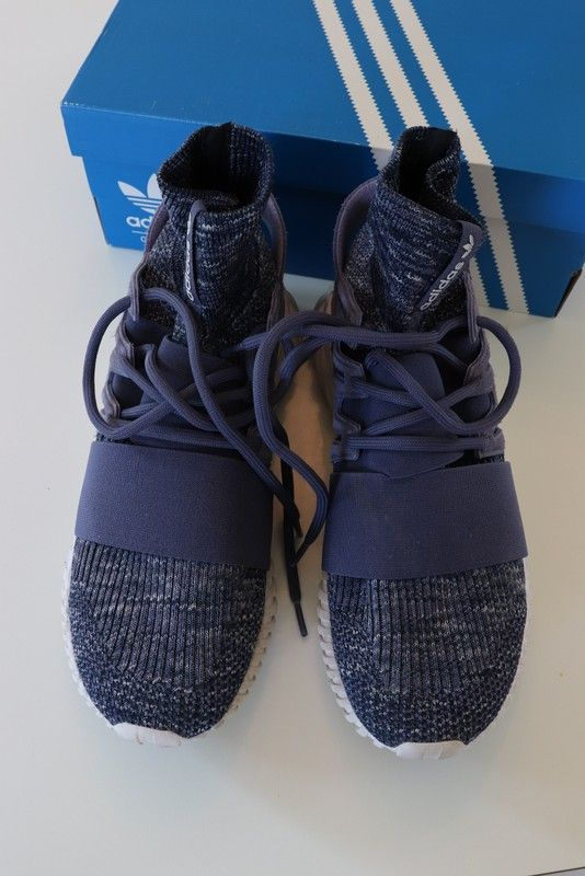 Baskets Adidas bleu marine Tubular Doom PK taille 44 | À