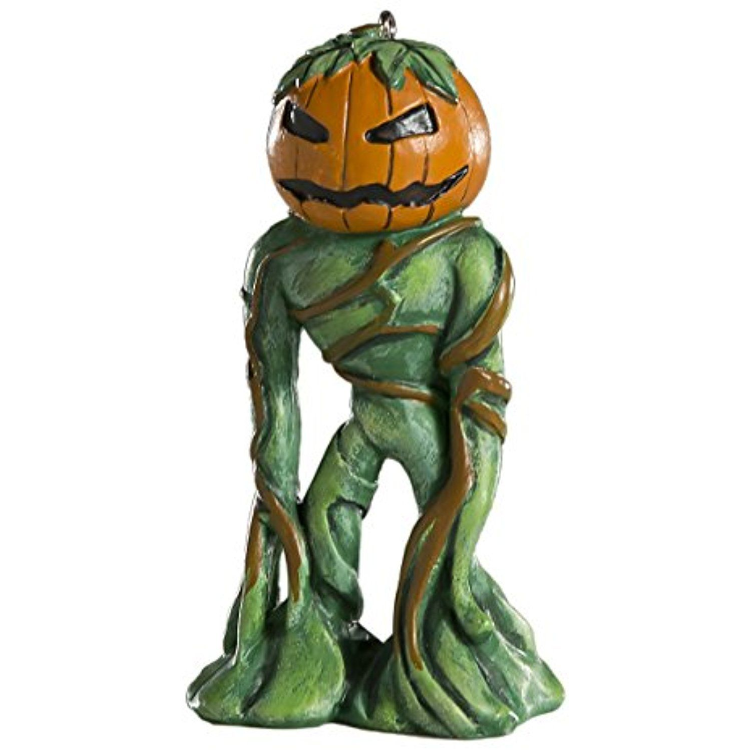 Pumpkin Man Horror Ornament Scary Prop and Decoration