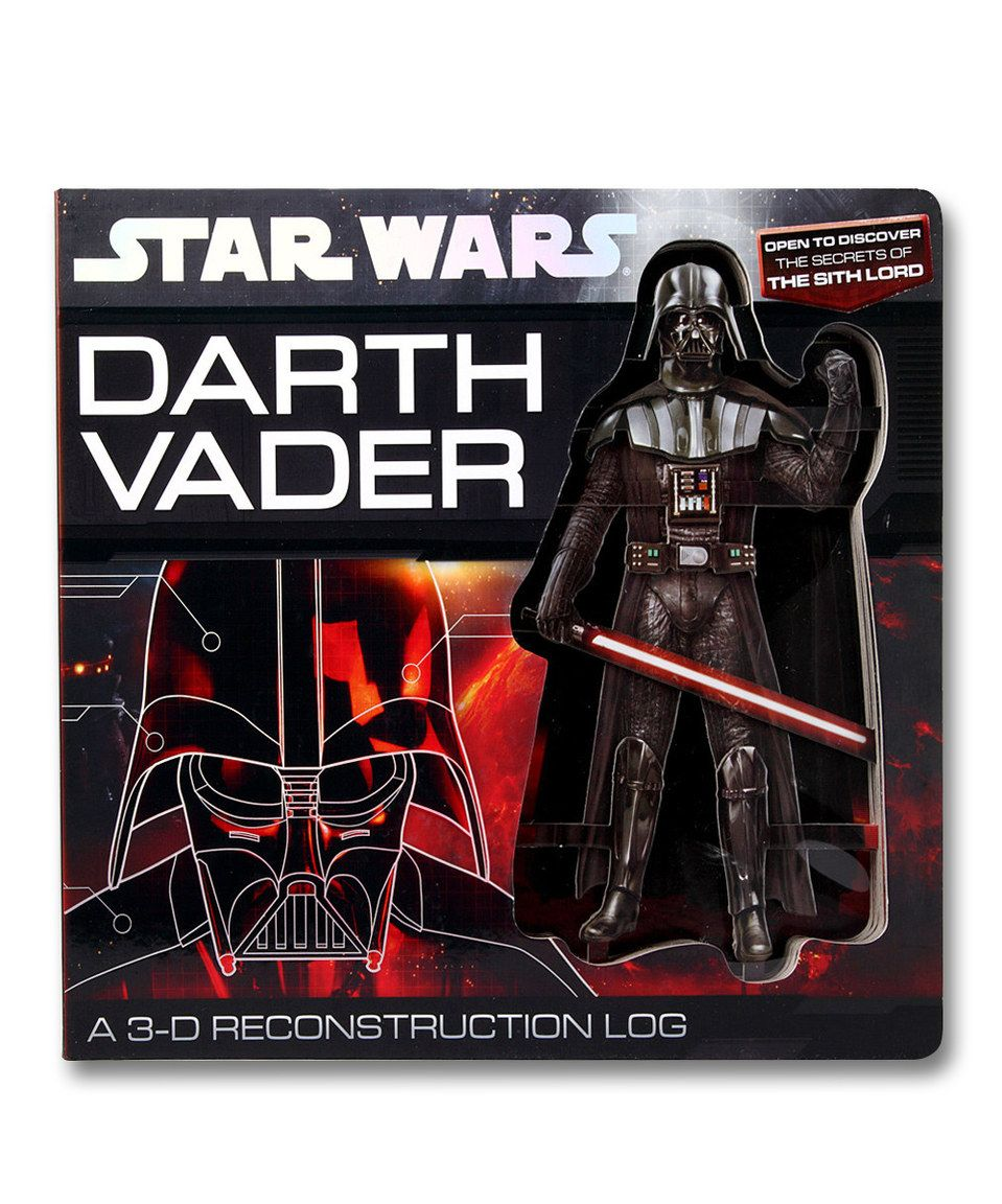 Another great find on #zulily! Darth Vader: A 3-D Reconstruction Log Board Book by Star Wars #zulilyfinds