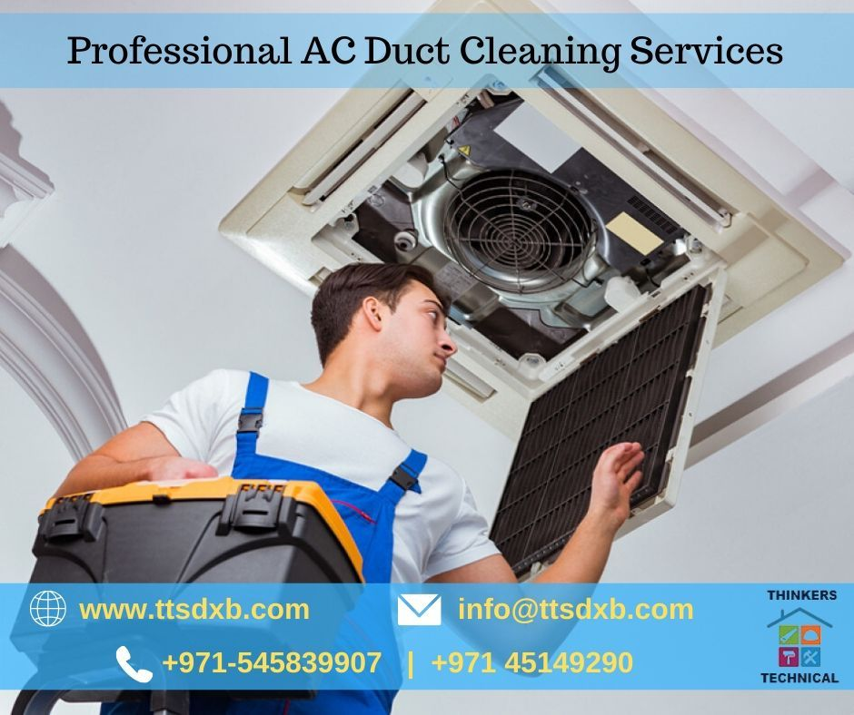 Thinkers Technical Services LLC Professional AC Duct