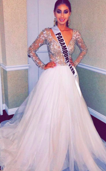 00a5d4932d64 Sherri Hill Couture pageant gown. Couture pageant gown. Custom pageant  dress. White pageant gown. Couture wedding dress.