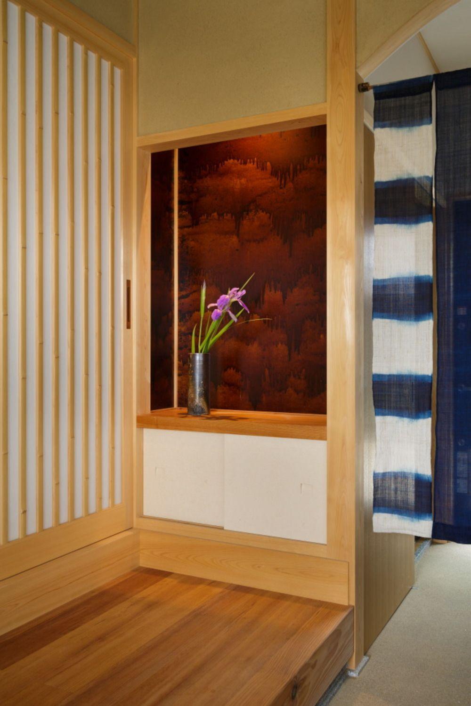 通り土間のあるレトロ和風住宅 岡山県で無垢の木の家を建てるなんば
